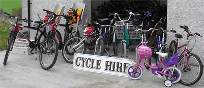Cycle hire photo